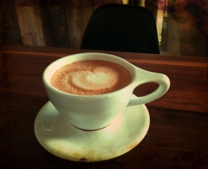60. Heart-filled lattes