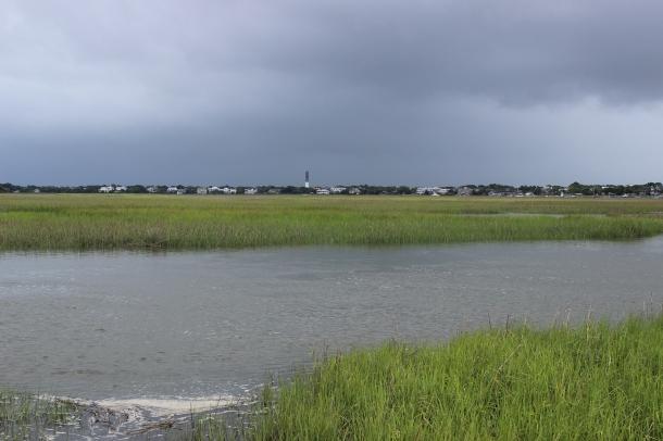 Storm approaching Sullivans