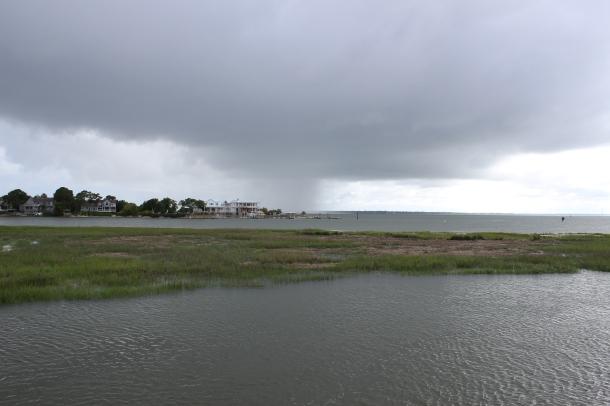 Rain hits Sullivans