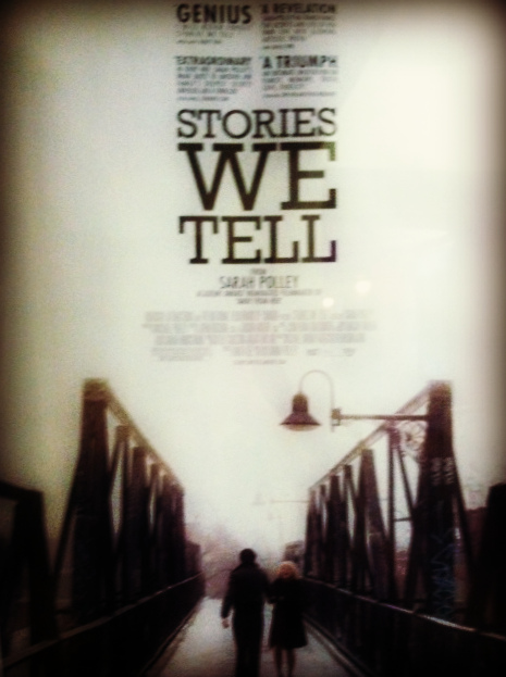 Stories we tell / Photo by Amy Watson Smith, 2013