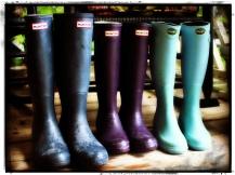 133. Rain boots