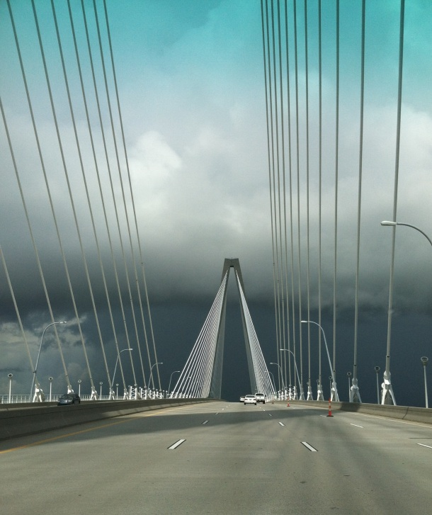 Ravenel Bridge to Charleston